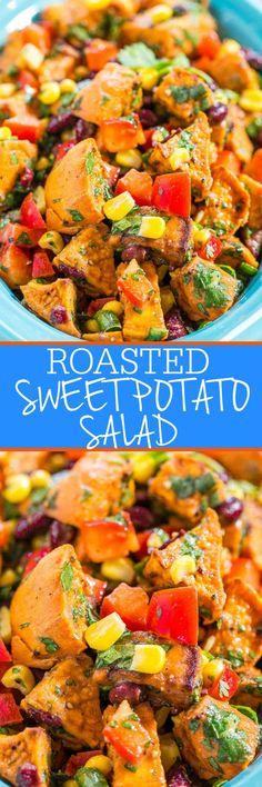Roasted Sweet Potato Salad Averie Cooks