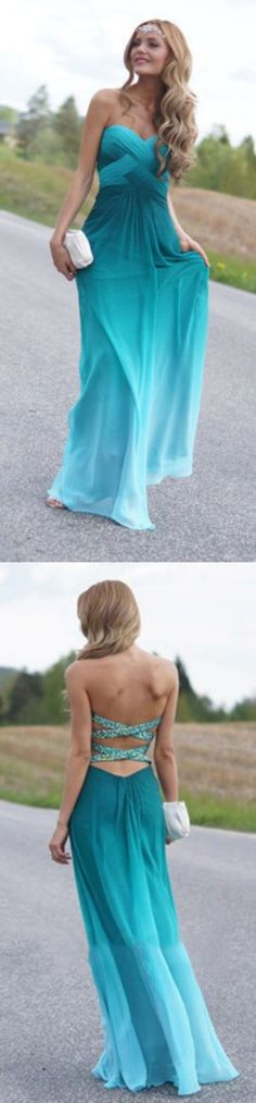 Sweetheart Prom Dresses, Green Prom Dresses, Green Sweetheart Prom Dresses, Sweetheart Prom Dresses, Real Beauty Peacock Green Gradient Ombre Chiffon Prom Dresses, Long Prom Dresses, Long Chiffon dresses, Ombre Prom Dresses, Prom Dresses Long, Long Green dresses, Chiffon Prom Dresses, Peacock Prom dresses, Chiffon Dresses Long, Green Chiffon dresses, Green Long dresses, Prom Long Dresses