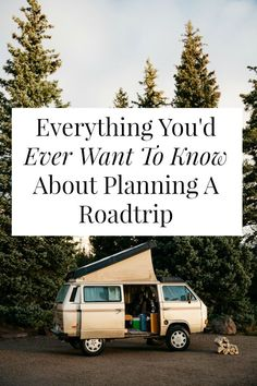 Planning a road trip soon? Here's all the road trip tips you need.