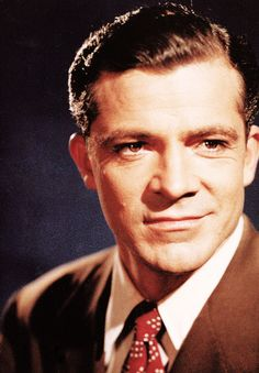 Pretty sure all Dana Andrews has to do was do this smirk on my screen and I start to flirty giggle like he's really there.