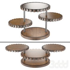 3d модели: Столы - Sprockets End Table