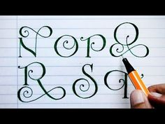 In this video tutorial I show you how I do a lettering alphabet, letter by letter, to watch how I draw every stroke very detailed. Typography, Lettering, Youtube, Alphabet, Log Projects, Crates, Lyrics, Letterpress, Letterpress Printing