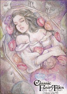 Juri Hayasaka Chinchilla (Jurithedreamer), Snow White sketch card