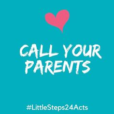 Day 2 of random acts of kindness in lead up to the holidays - give your parents a shout.  It can mean the world to them.  #mylittlesteps #littlesteps24acts . . . #randomactsofkindness #adventcalendar #giveback #holidaytime #kindnessmatters #momlife