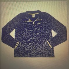ISO Victoria secret pink faux fur leopard print zip-up. PINK Victoria's Secret Jackets & Coats