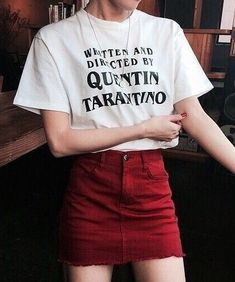 """Written And Directed By Quentin Tarantino"" T-Shirt"