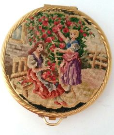 231 Best Compacts Petit Point And Fabric Images Compact