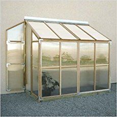 Lean to greenhouses and solariums are a wonderful architectural feature that you can grow food in. See some lean to greenhouse plans, inspiration for solariums, lean to greenhouses with water collection and cold frames and building and design tips. Lean To Greenhouse Kits, Greenhouse Supplies, Small Greenhouse, Greenhouse Plans, Greenhouse Gardening, Greenhouse Wedding, Homemade Greenhouse, Outdoor Greenhouse, Pallet Greenhouse