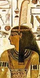 Ma'at is the ancient Egyptian Goddess who personified physical and moral law, order and truth. She held a scepter in one hand, the ankh (the symbol of life) in the other, and wore a peacock feather on her head. It was when the world was created and chaos was eliminated that the principles of Ma'at were set in place.