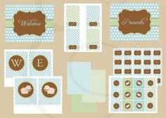 little lamb party printable | Little Lamb Baby Shower Printable Package in by EmmyJosParties, $15.00