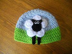 Ravelry: 6 Circle Sheep Hat pattern by Jennie Claver
