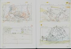 Living Lines Library: 風の谷のナウシカ / Nausicaä of the Valley of the Wind (1984) - Layout Design