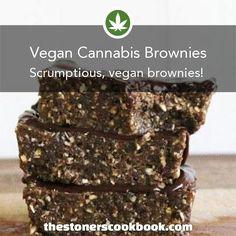 Vegan Cannabis Brownies from the The Stoner's Cookbook (http://www.thestonerscookbook.com/recipe/vegan-cannabis-brownies)