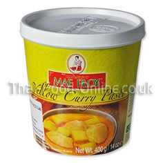 best mae ploy yellow curry paste recipe on pinterest