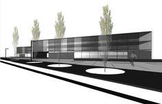 1er premio Concurso Arquitectura Centro de Salut Castelldefells. Sulkin Marchissio SCP  www.sulkin-marchissio.com