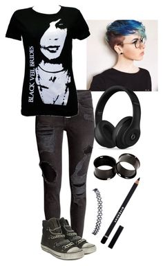 """""""Untitled #213"""" by mysummersky ❤ liked on Polyvore featuring Beats by Dr. Dre, Wet Seal, Ash and Givenchy"""
