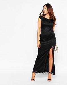Jessica Wright Reena Lace Maxi Dress