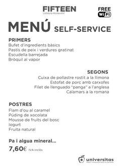 Hoy 20 de noviembre tenemos un menú por 7,60€ esperándote en #Barcelona, al lado del #CampNou