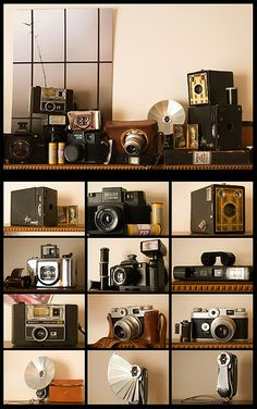 my dream... to have a collection of  old cameras!