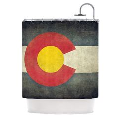 Found it at Wayfair - State Flag of Colorado Shower Curtain