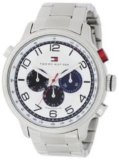 Tommy Hilfiger Men's 1790765 Sport Stainless-Steel Bracel…