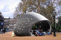 AADRL TEN Pavilion, Bedford Square by Ben.Harper, via Flickr