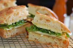 Farmers Lunch Sandwich.  We first became addicted to this sandwich when it appeared on the deli menu at City Feed and Supply, and quickly adapted it to our own kitchen! With grainy mustard, sharp cheese, and some crunchy apples, this is the perfect sandwich for a light summer meal outdoors.