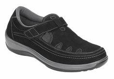 Footwear - Serene – Black Plantar Fasciitis Shoes 16ec4742d56