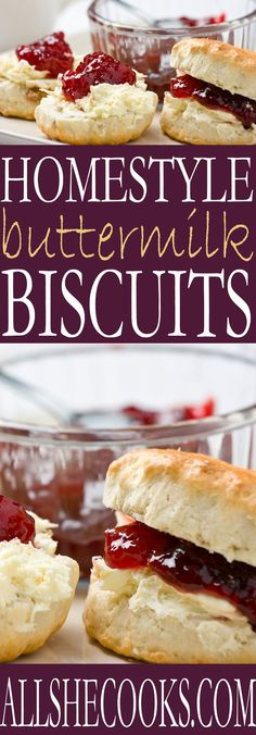 Copycat Restaurant style biscuits can be made at home with this Restaurant Style Buttermilk Biscuits recipe from All She Cooks. Easy as pie biscuits in less than 30 minutes!