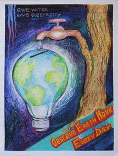 dibujos-de-como-cuidar-el-planeta-para-ninos Environment Drawing Ideas, World Environment Day Posters, Drawings With Meaning, Art Drawings For Kids, Nature Sketch, Nature Drawing, Save Water Poster Drawing, Save Earth Drawing, Save Earth Posters