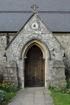 St Thomas' Church Door - Southborough, Kent, England