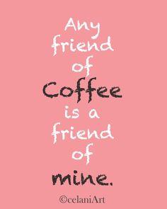Friendship and Coffee by Alexandra Celani