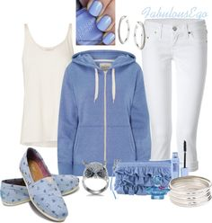 """Pale Blue #1"" by fabulousego on Polyvore"