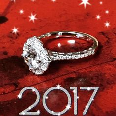 Ring in the New Year with an engagement ring of her choice to plan the perfect proposal in 2017 #style LE345WD #peterstormjewelry #newyear #lastpicoftheyear #engagementring #love #ring #bling #sparkle #diamond #happynewyear #jewelry #jewellery
