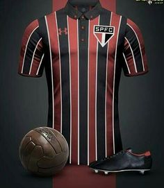 #SPFC Soccer Kits, Football Kits, Sport Football, Football Jerseys, Camisa Retro, Team Shirts, Sport Outfits