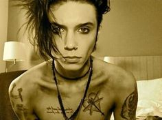Andy Biersack is hot. I'm just going to say it. I'm not ashamed.