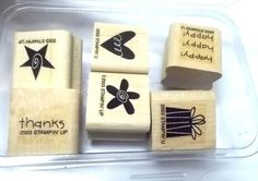 Stampin Up Level 1A Teeny Tinies Rubber stamp by NoodlesNotions, $6.99