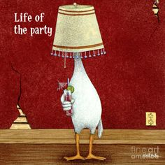 Life of the Party -  by Will Bullas