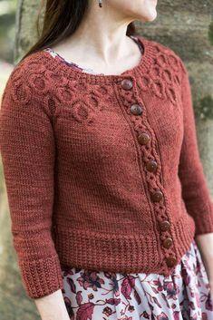 Crochet Cardigan Lore Knitting pattern by Jennifer Wood - Fair Isle Knitting Patterns, Sweater Knitting Patterns, Knitting Designs, Modest Fashion, Fashion Outfits, Fashion Clothes, Girly Outfits, Jennifer Wood, Cardigan Design