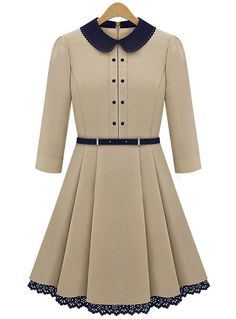 I will wear this and immediately become a proper British woman. With a parasol and gloves.