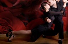 Tango is a great ballroom dance to watch because of difficult moves like this one, in addition to the fancy footwork and the great chemistry that are displayed by tango couples.