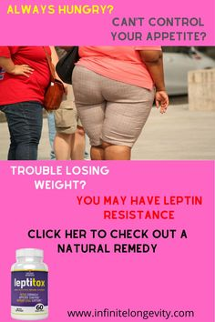 Leptitox is a blend of natural ingredients that help you lose weight. It specifically targets Leptin resistance, which is responsible for the accumulation of body fat.  It contains 22 natural detoxifying nutrients and plant extracts in small, easy to swallow capsules – taken once daily.  In addition to weigh loss, this powerful formula helps support a healthy immune system, heart, brain, as well as boost energy levels.  #leptinresistance #leptin #weightloss #diabetes #diet… What Is Leptin, Leptin Levels, Curb Appetite, Reverse Diabetes Naturally, Endocrine Disruptors, Healthy Cholesterol Levels, Leptin Resistance, Healthy Liver, Weigh Loss