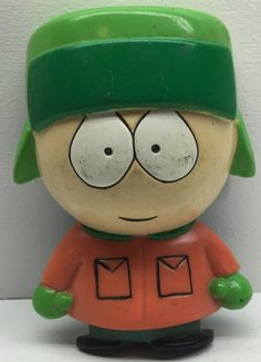 (TAS033100) - 1998 Comedy Central South Park Magnet - Kyle Broflovski Figure