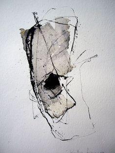White Memories: ART A CASA: Kitty Sabatier #abstractart