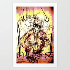Mover and Shaker Art Print by Shane R. Murphy - $19.00 Shower, Art Prints, Rain Shower Heads, Art Impressions, Showers