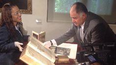 ¡ #Felicidades a Don @hdemauleon por la presentación de su libro! Aquí en su paso por #Biblioteca con @elfocop40