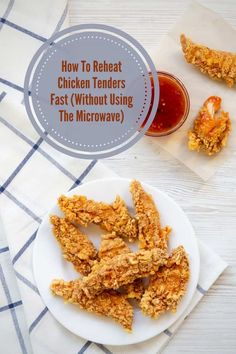 Learn how to reheat chicken tenders fast so they stay moist and crisp, but not rubbery. Crispy Chicken, Dinner Party Appetizers, Chicken Strips, Frozen Chicken, Recipe Please, Chicken Tenders, How To Cook Chicken, Microwave