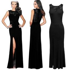 Lmeison Sleeveless Round Neck Evening Wedding Cocktail Party Dress -- New and awesome product awaits you, Read it now  : formal dresses