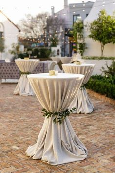 Elegant New Orleans Wedding with Classic Gold Details Wedding Cocktails .- Elegant New Orleans Wedding with Classic Gold Wedding Cocktails Cocktail Table Decor, Cocktail Tables, Wedding Cocktail Hour, Mod Wedding, Wedding Ceremony, Summer Wedding, Beach Ceremony, Church Ceremony, Jazz Wedding