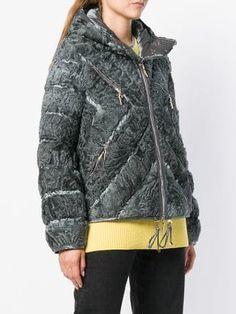 Liska пуховик на молнии Fake Fur, Vintage Fur, Winter Accessories, Winter Coat, Winter Fashion, Winter Jackets, Street Style, Womens Fashion, Outfits